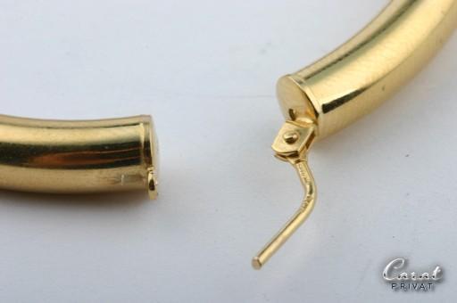 gold ohrringe in 14k 585 er gelbgold kreolen creolen. Black Bedroom Furniture Sets. Home Design Ideas