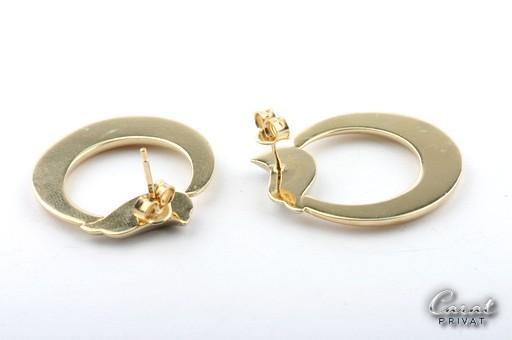 goldohrringe in 14kt 585 gelbgold ohrringe gold stecker. Black Bedroom Furniture Sets. Home Design Ideas
